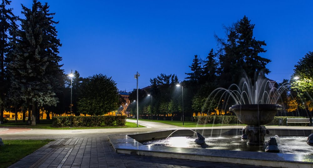 parkovo osvetlenie